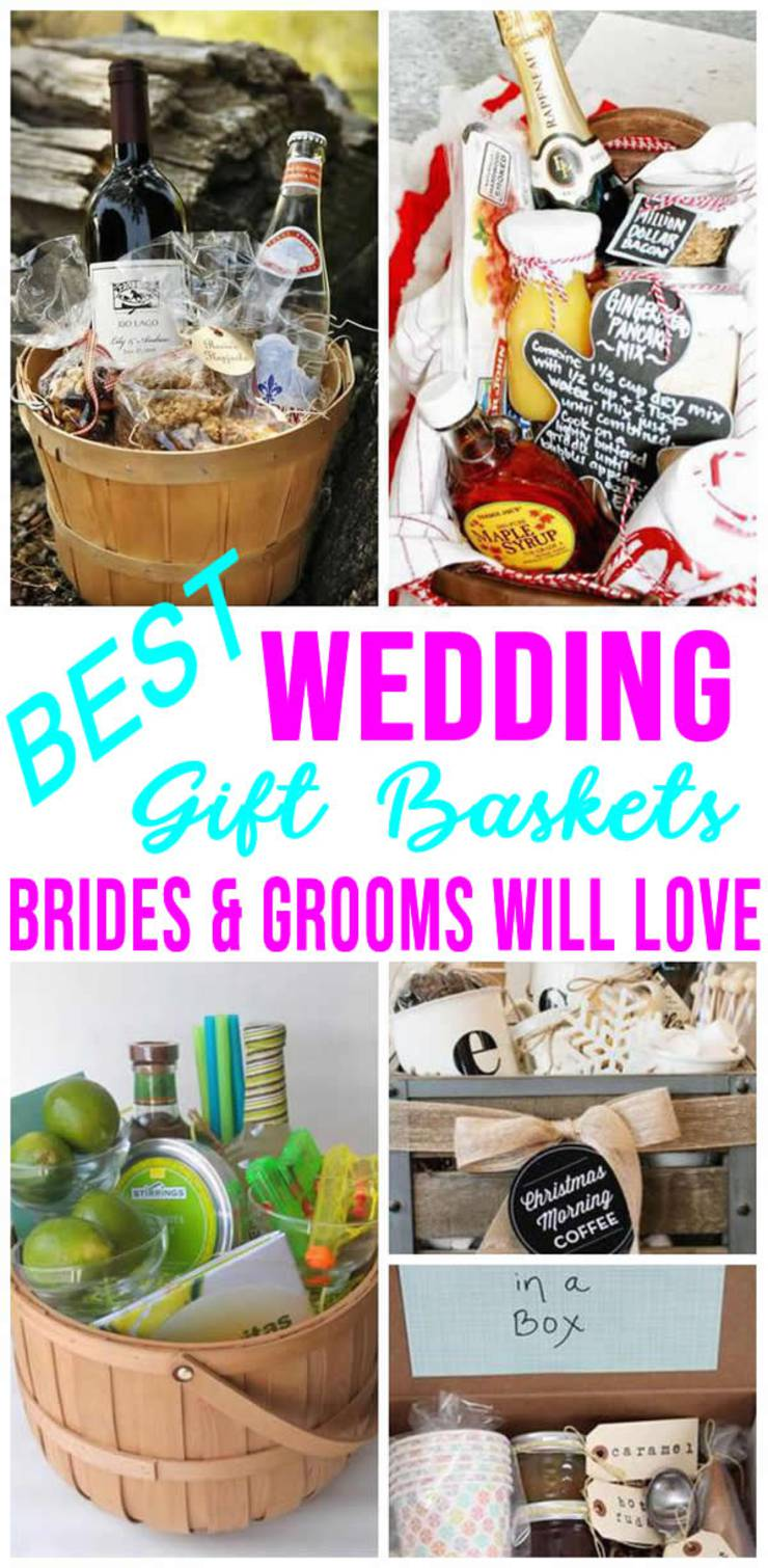 Best Wedding Gift Baskets Diy Wedding Gift Basket Ideas For Bride And Groom Couples Creative Unique