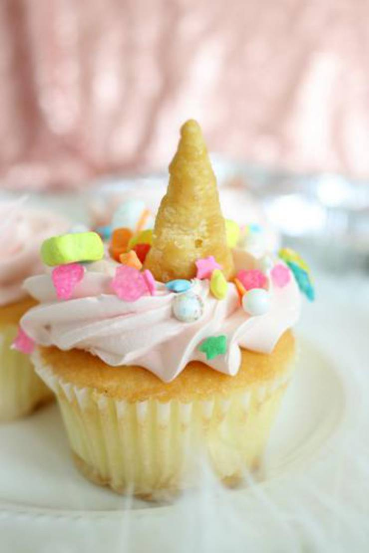 Magical Unicorn Birthday Cakes Easy Unicorn Cupcakes