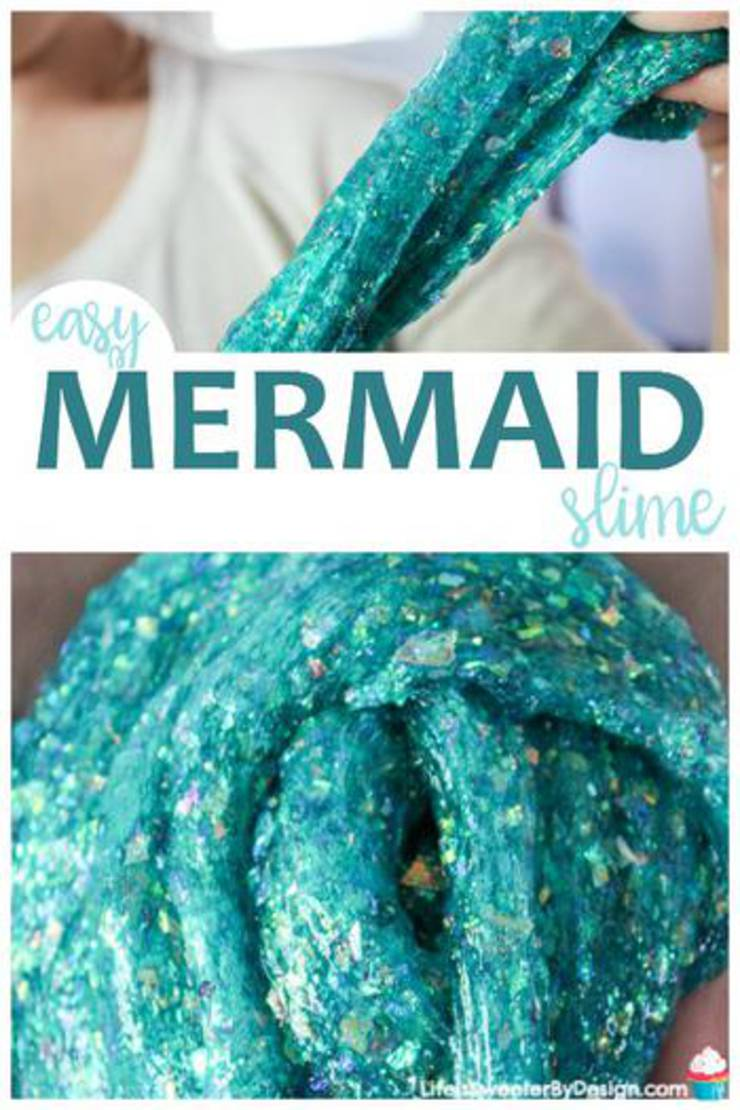 Easy Mermaid Slime
