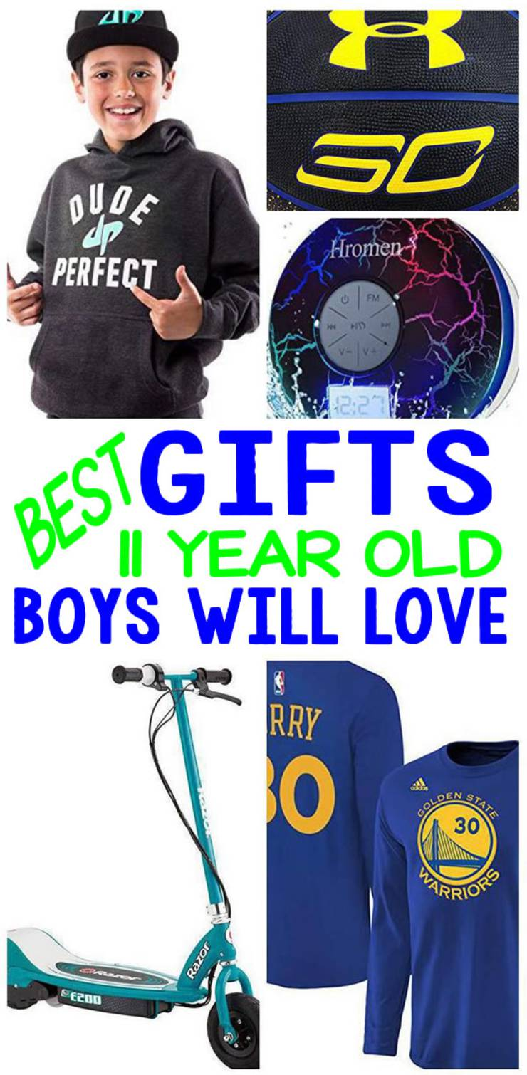 BEST Gifts 11 Year Old Boys Will Love
