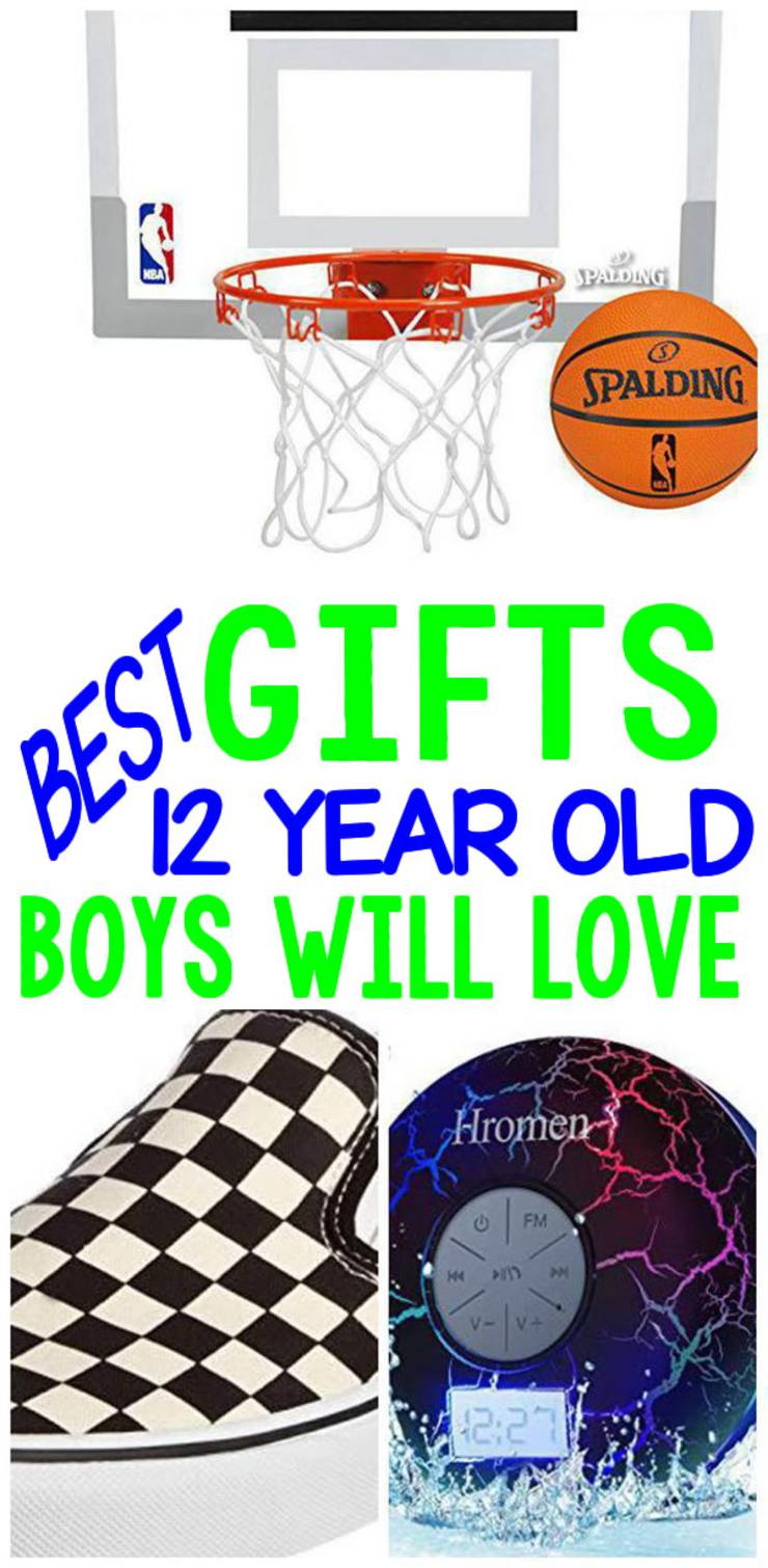gifts 12 year old boys