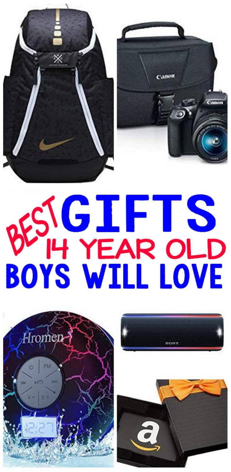 gifts 14 year old boys