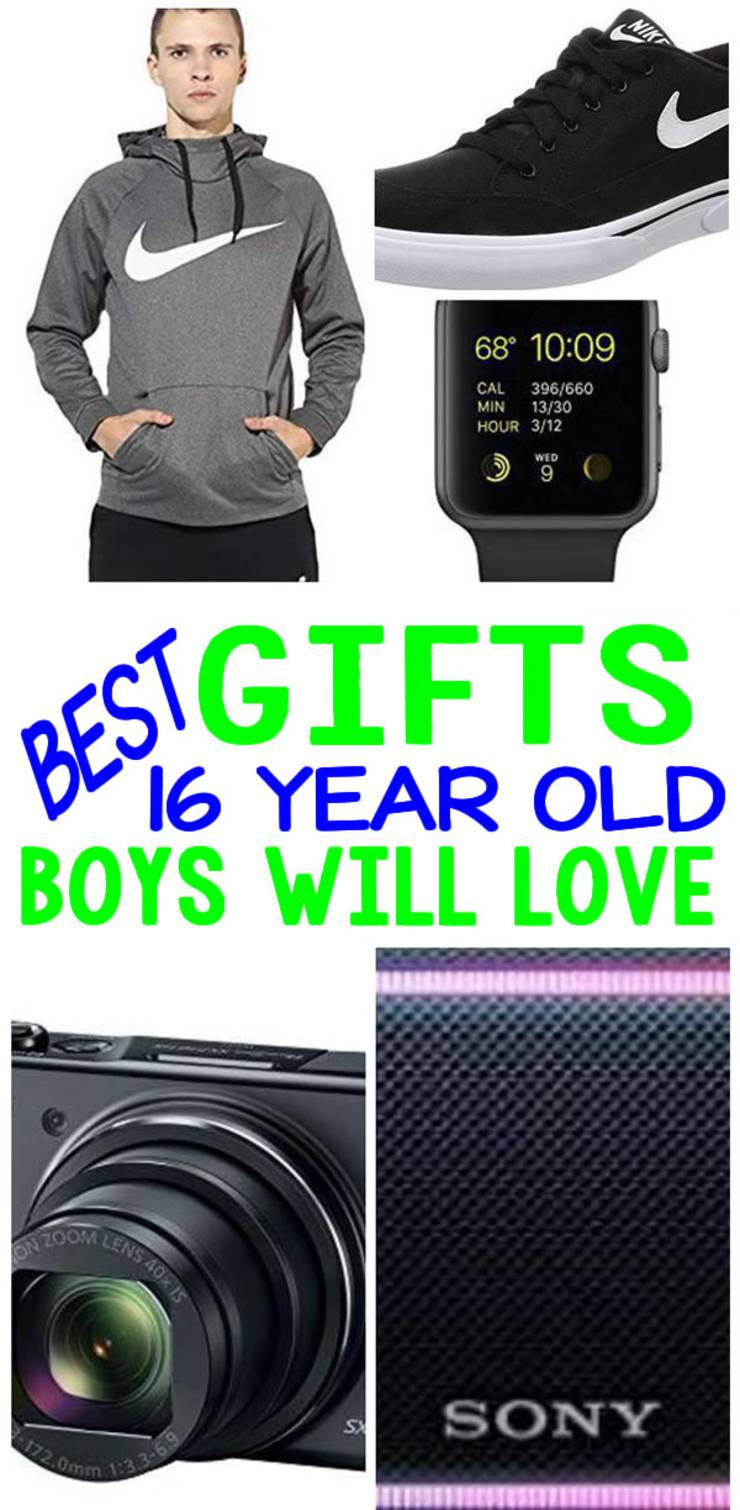 BEST Gifts 16 Year Old Boys Will Love