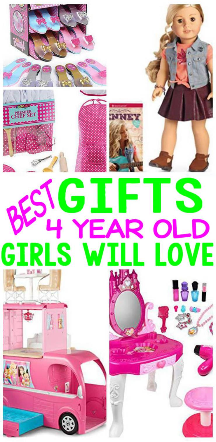 gifts 4 year old girls