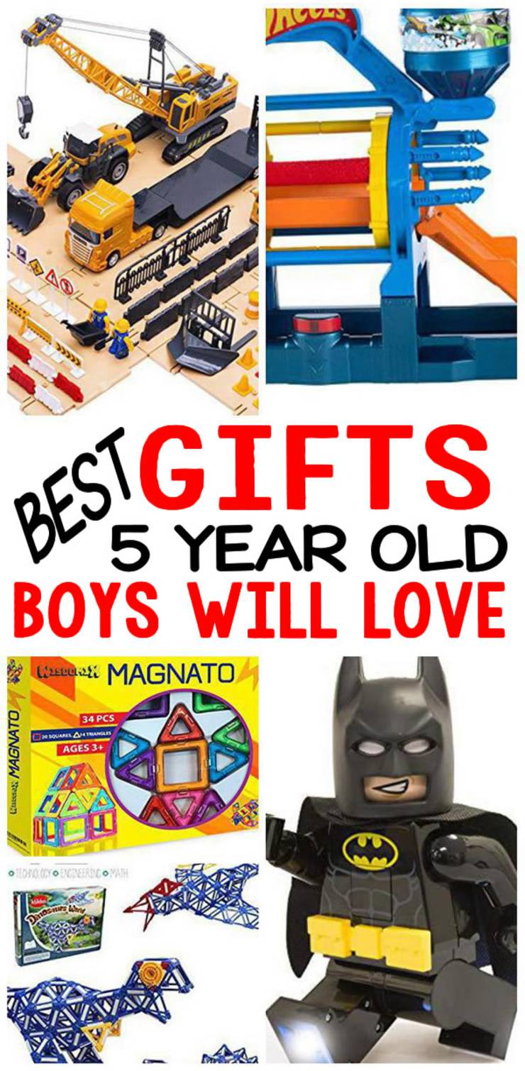 BEST Gifts 5 Year Old Boys Will Love