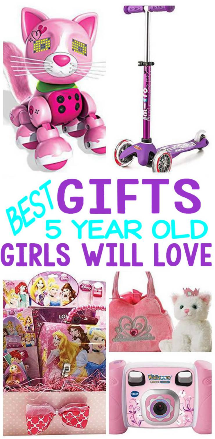 BEST Gifts 5 Year Old Girls Will Love