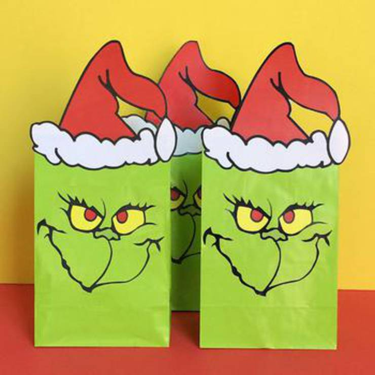 Grinch Goodie Bags