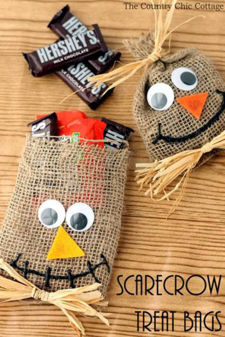 Scarecrow Party Favor Bags