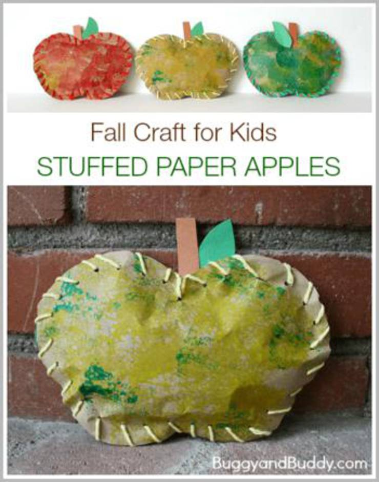 Stuffed Paper Apples