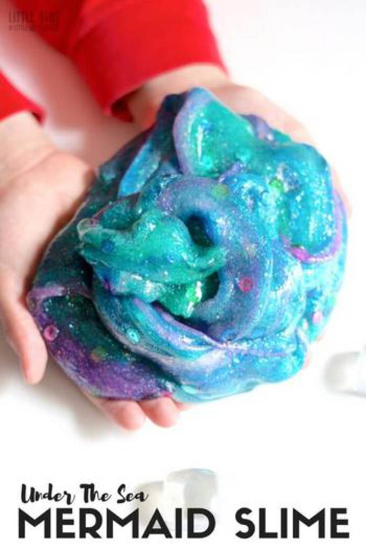 Under The Sea Mermaid Slime