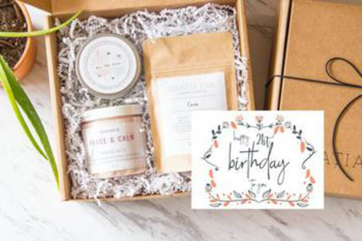 21St Birthday Gift Box