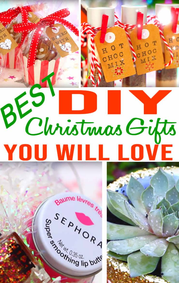 BEST DIY Christmas Gifts! EASY & CHEAP Gift Ideas To Make For ...