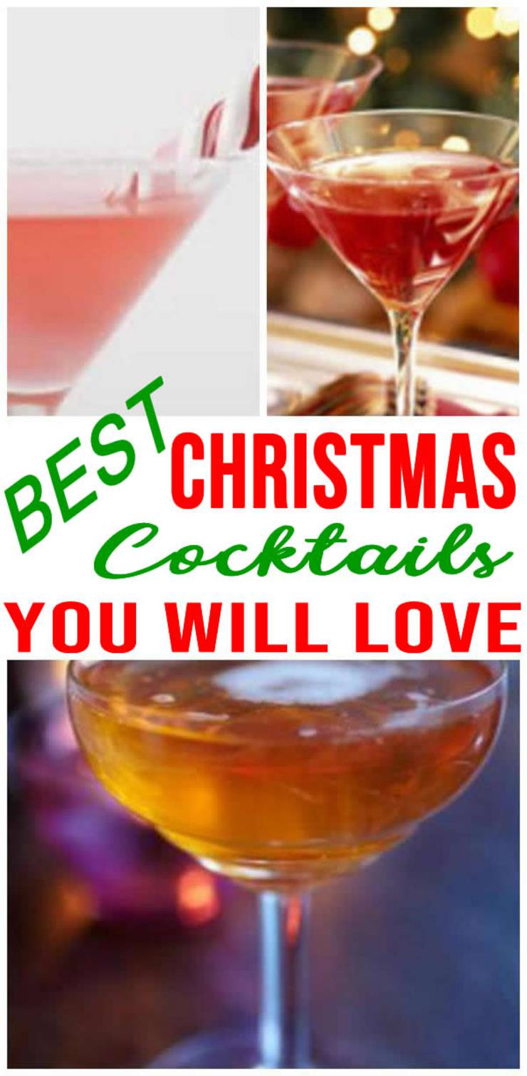 Christmas Drinks |  Holiday Drink Recipes