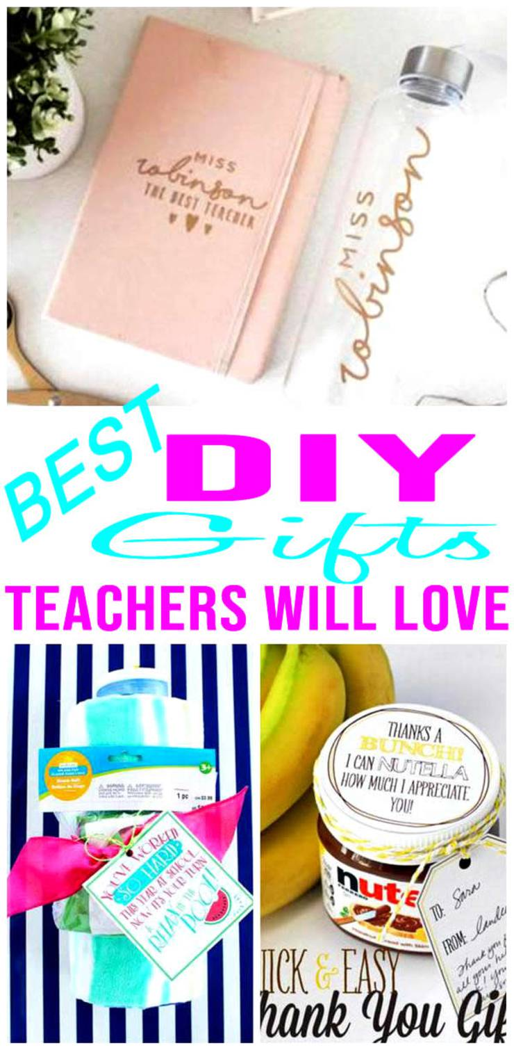 BEST DIY Teacher Gifts! EASY & CHEAP Gift Ideas To Make For Christmas Gifts - End Of Year - Teacher Appreciation - First Day! Creative & Unique Presents That Are Cute – Handmade Ideas From Kids - Students