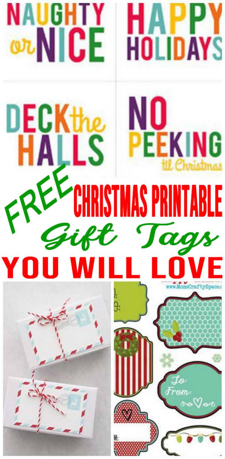 photograph regarding Printable Christmas Gifts identify Cost-free Printable Xmas Present Tags Towards Incorporate Sparkle Toward Your Presents