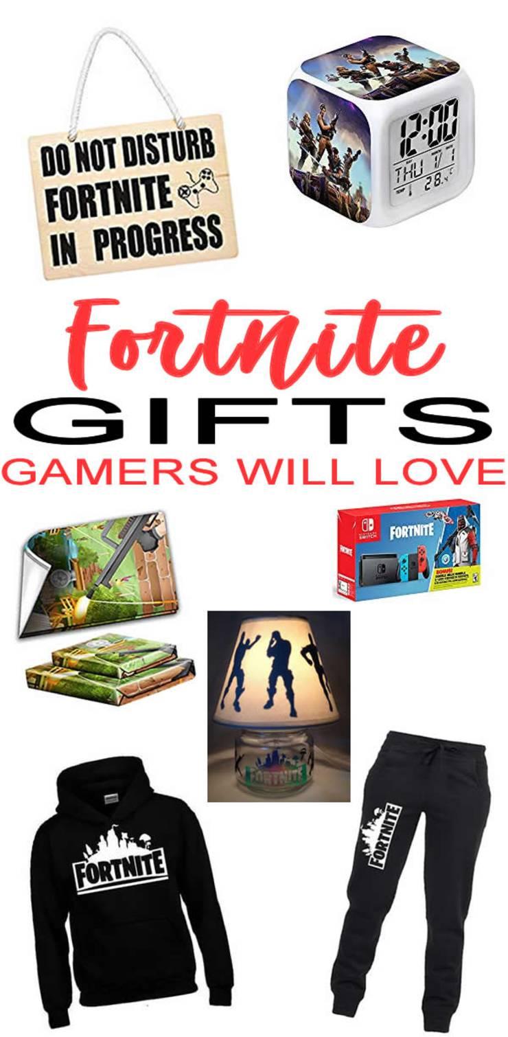 BEST Fortnite Gifts - Gamer Gift Ideas