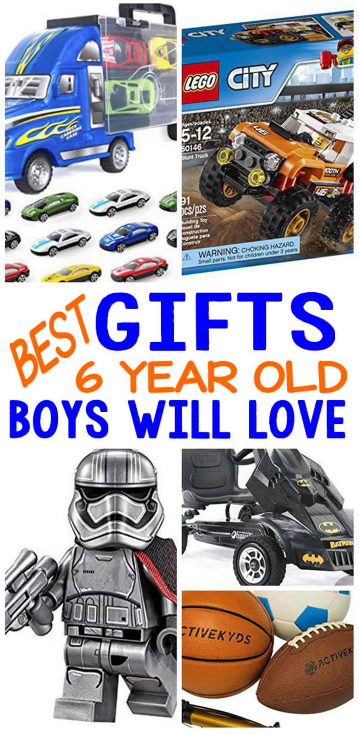 BEST Gifts 6 Year Old Boys Will Love