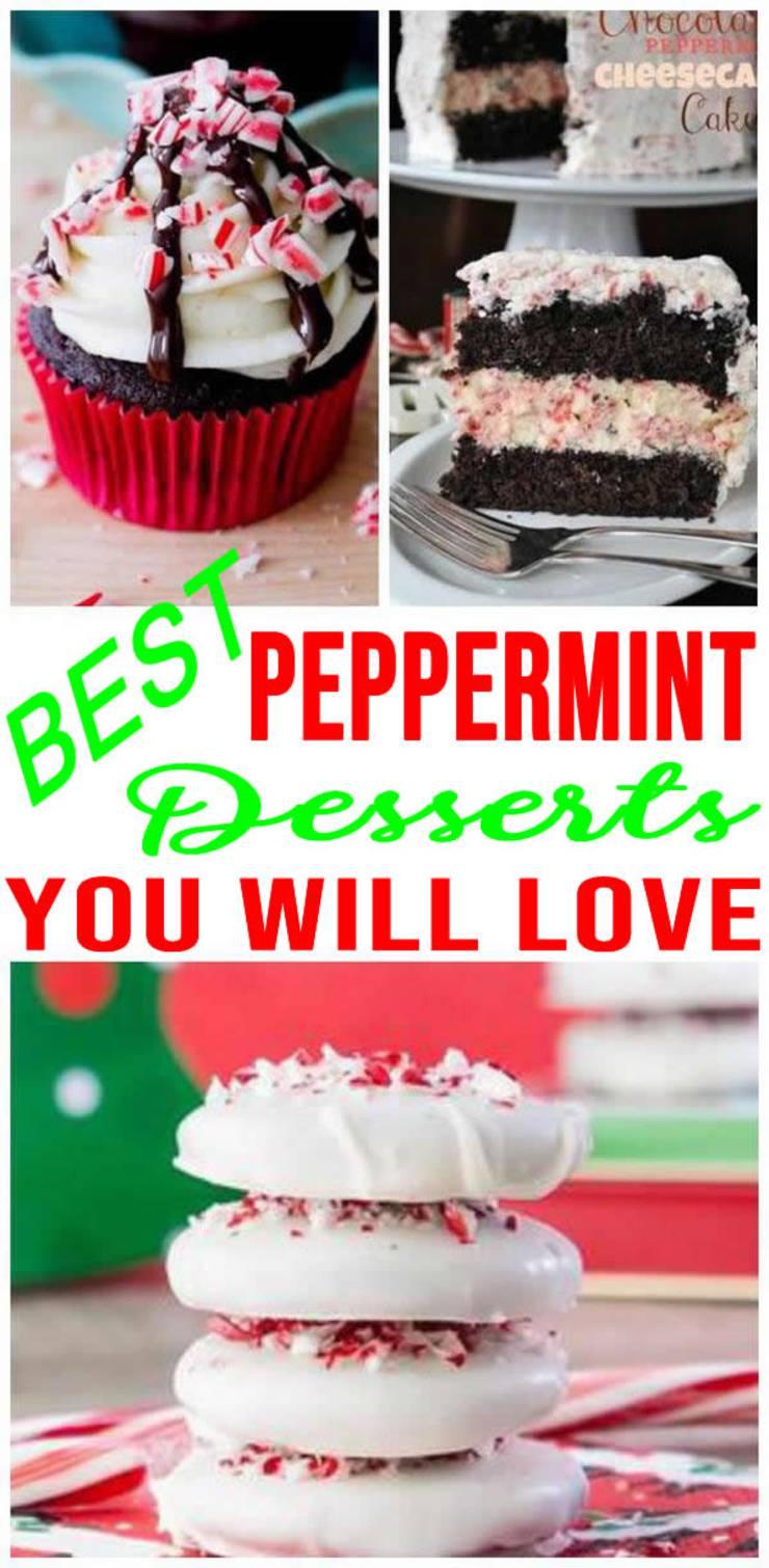 Peppermint-Desserts