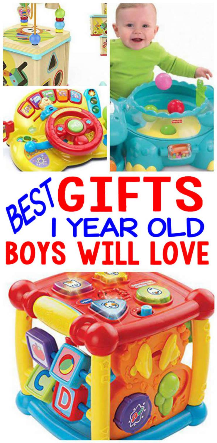 BEST Gifts 1 Year Old Boys Will Love