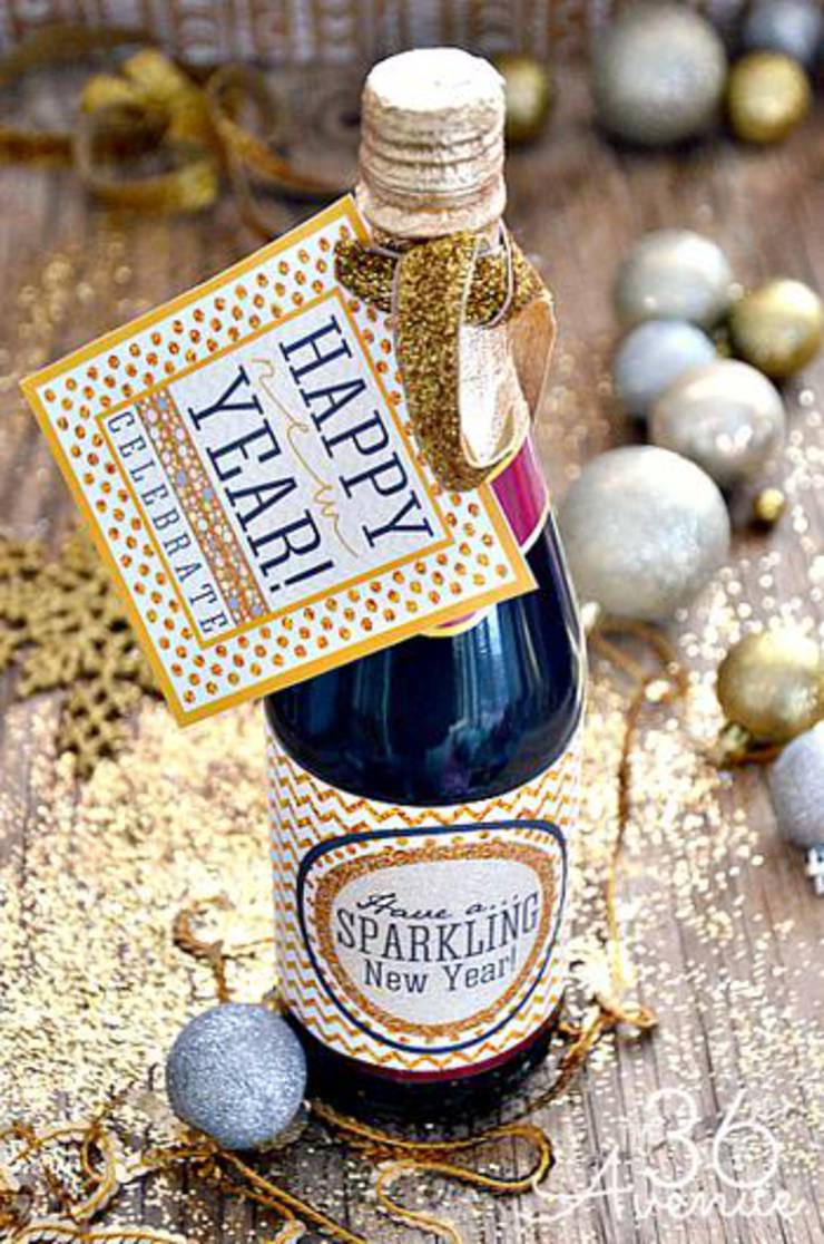 Champagne Party Favor