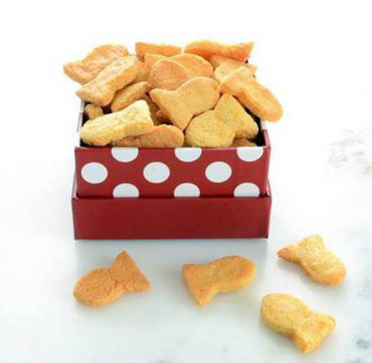 Copycat Goldfish Keto Crackers