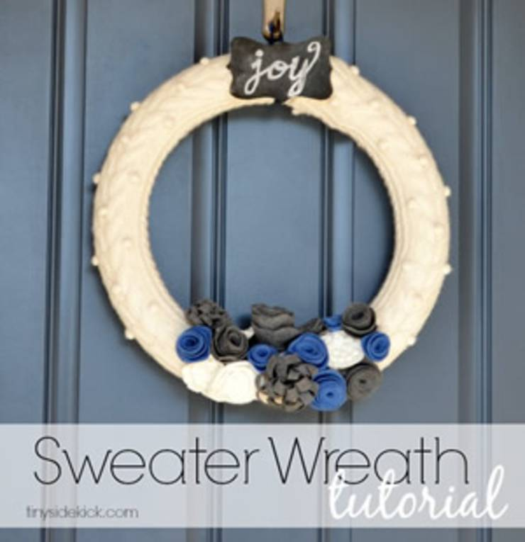 diy-sweater-wreath