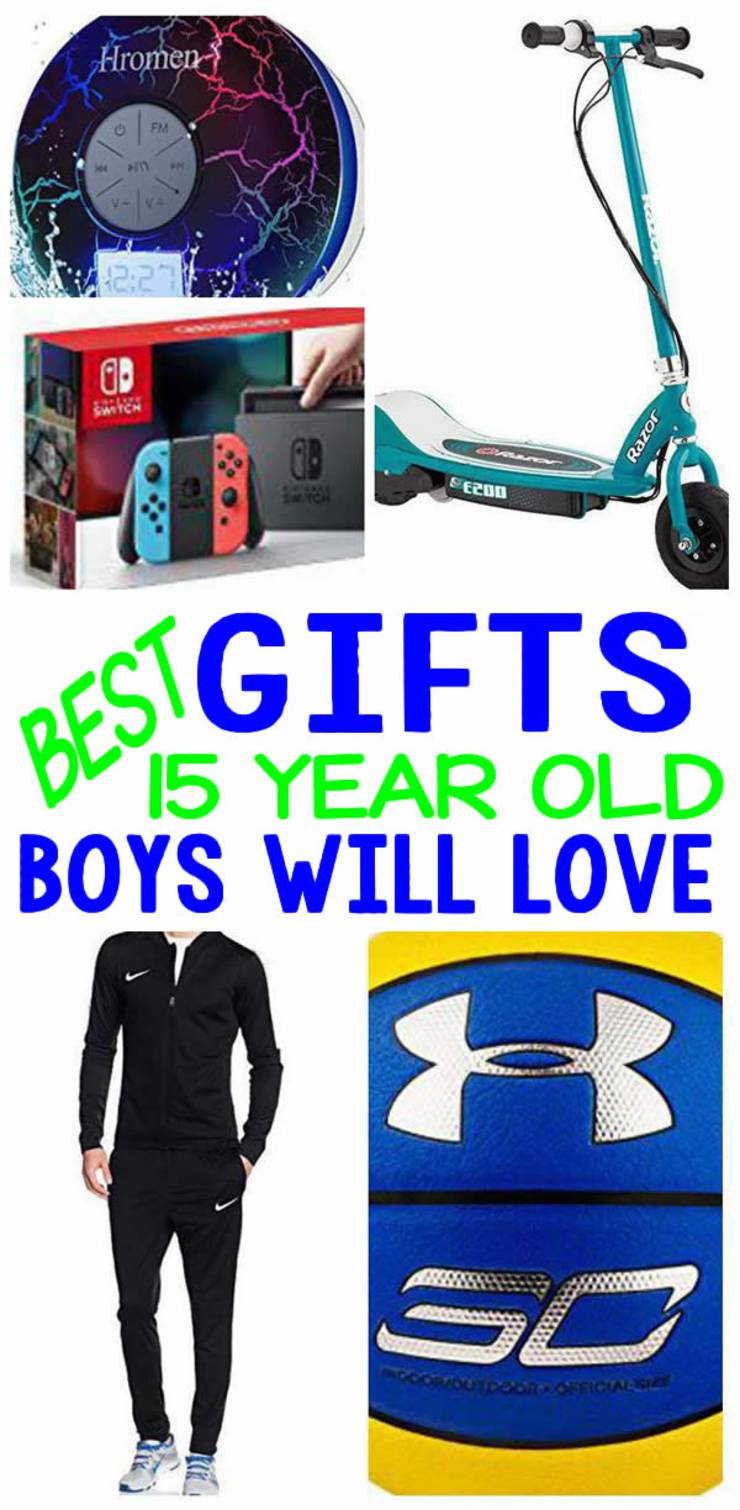 BEST Gifts 15 Year Old Boys Will Love