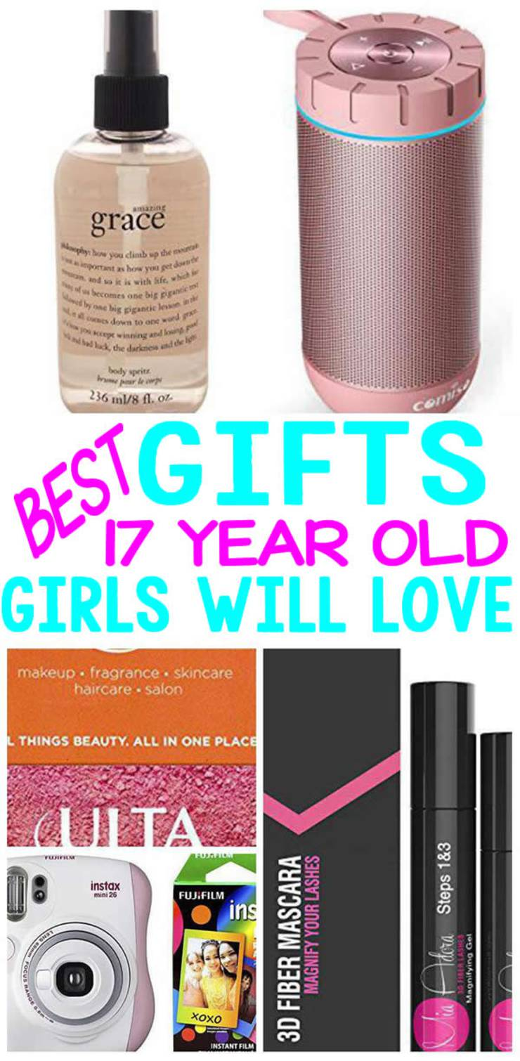 BEST Gifts 17 Year Old Girls Will Love