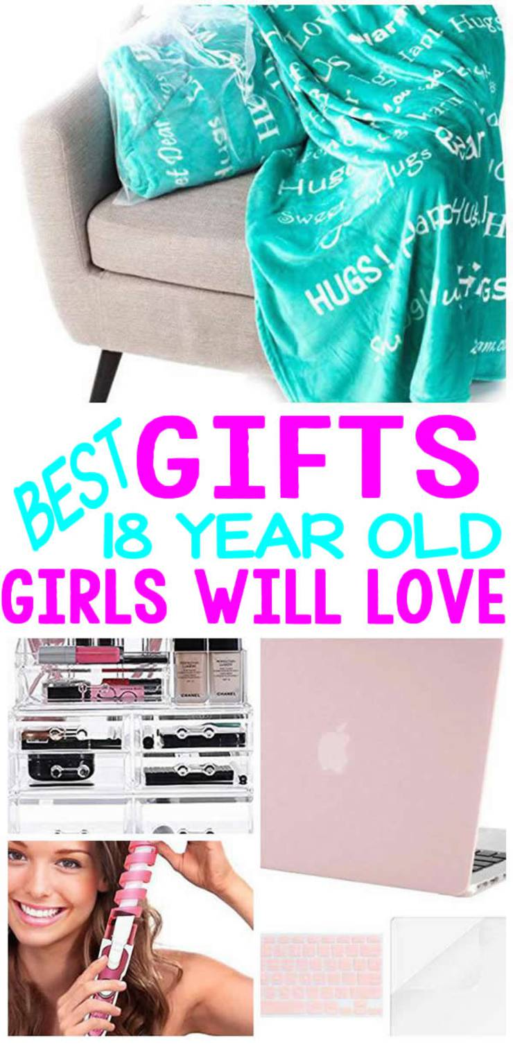 Gifts for 18 year old woman