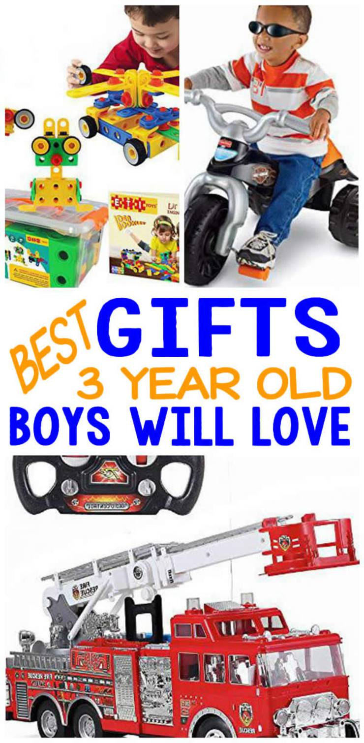 3 Year Old Boys Gift Ideas