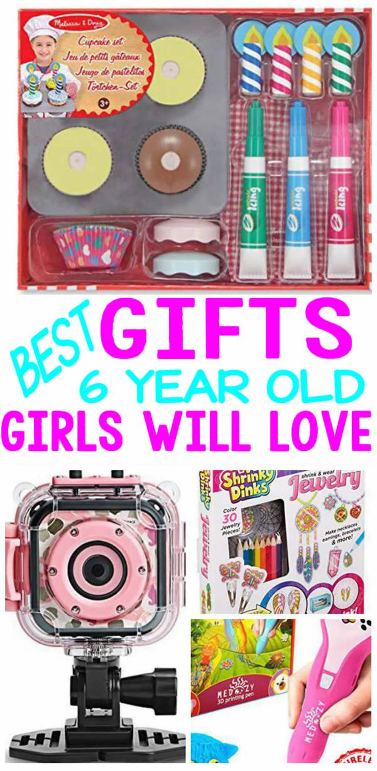 BEST Gifts 6 Year Old Girls Will Love