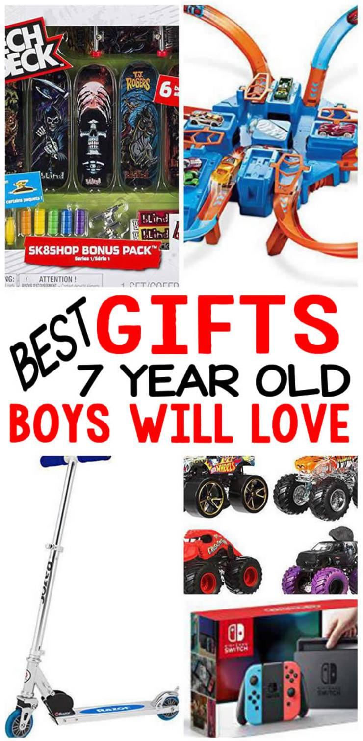 BEST Gifts 7 Year Old Boys Will Love