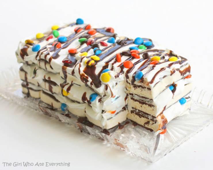 ice-cream-sandwich-cake-no bake dessert
