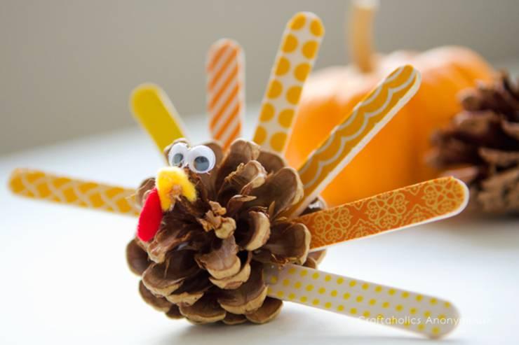 washi-tape-turkey-kids thanksgiving craft