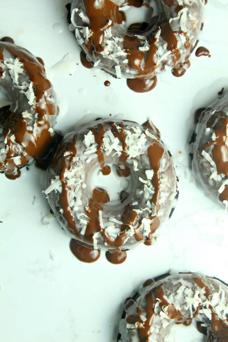 BEST Keto Donuts! Low Carb Chocolate Donut Idea – Baked & Glazed - Quick & Easy Ketogenic Diet Recipe – Completely Keto Friendly - Gluten Free