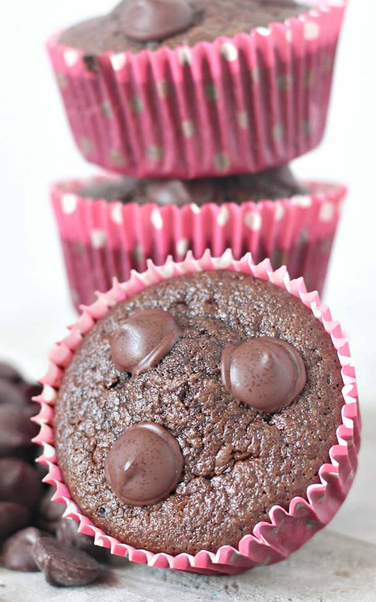low carb chocolate muffins almond flour