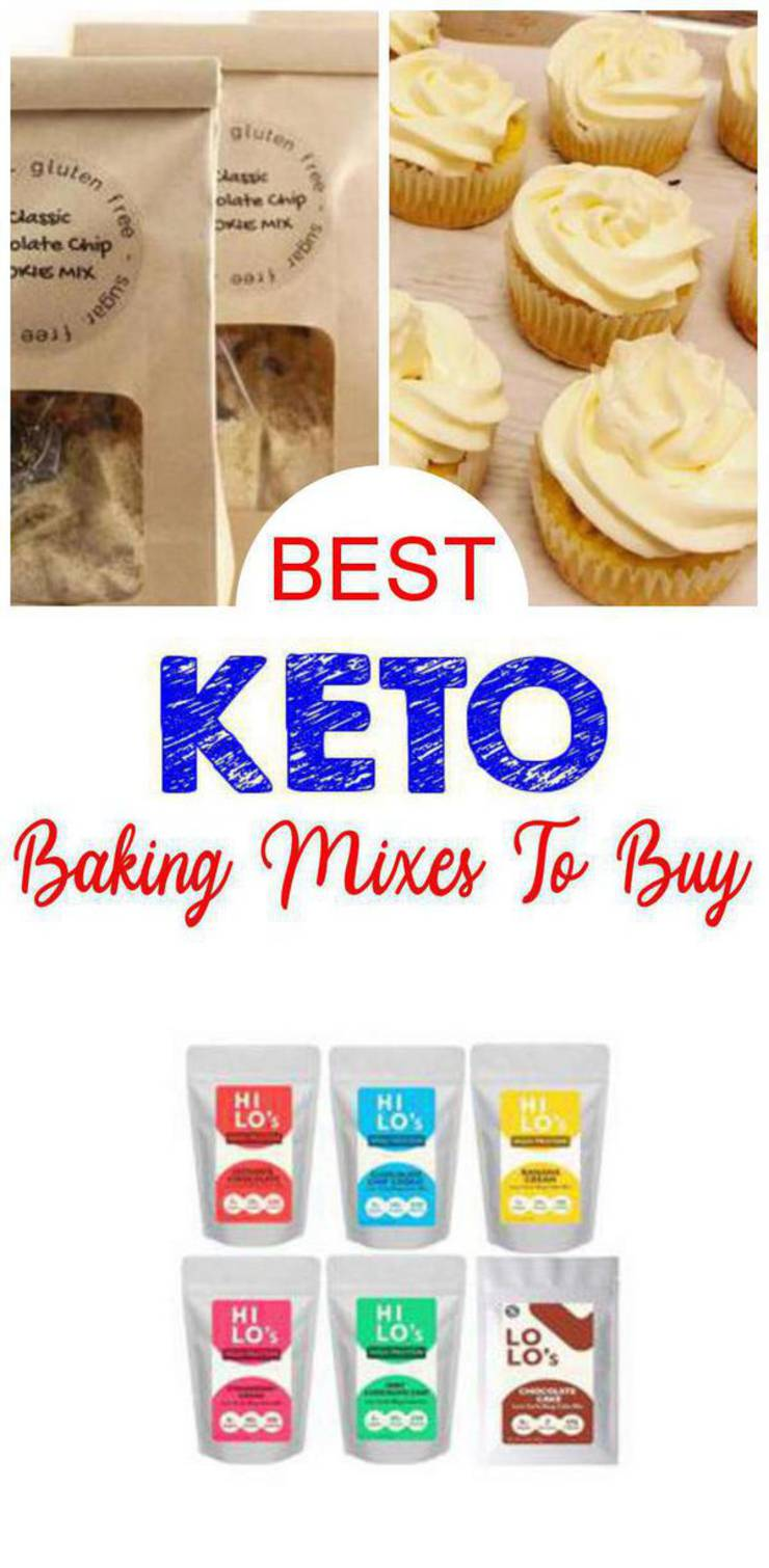 Keto Baking Mixes You Can Buy – BEST Low Carb Desserts and Snacks To Buy – Easy Ketogenic Diet Store Bought Baking Mix Ideas – Cookies – Pancakes – Brownies – Bread – Cake – Cupcake