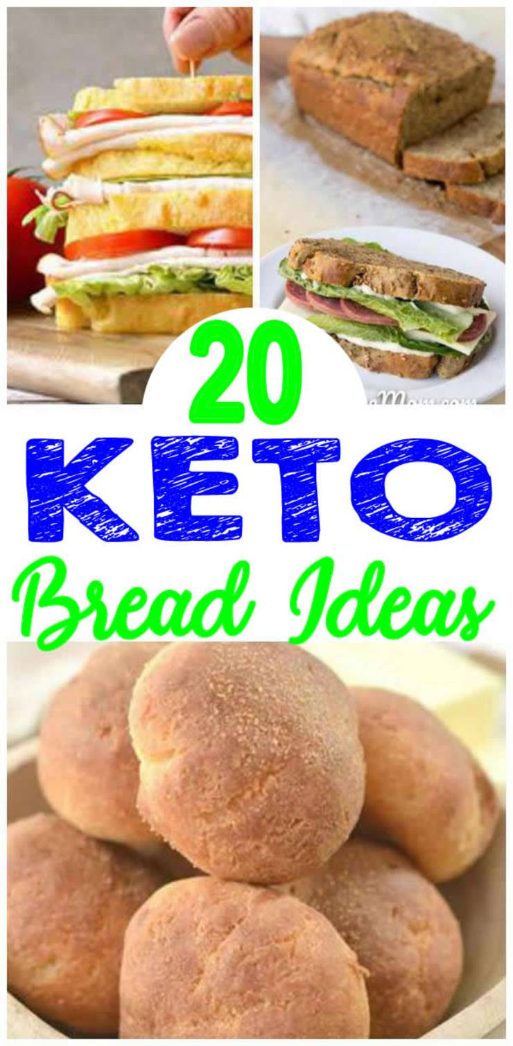 Keto Breads – BEST Low Carb Bread Recipes – Easy Ketogenic Diet Ideas