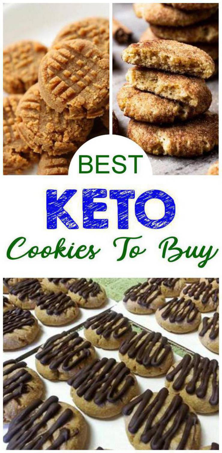 Keto Cookies You Can Buy – BEST Low Carb Desserts and Snacks To Buy – Easy Ketogenic Diet Store Bought Cookie Ideas - Yummy Treats