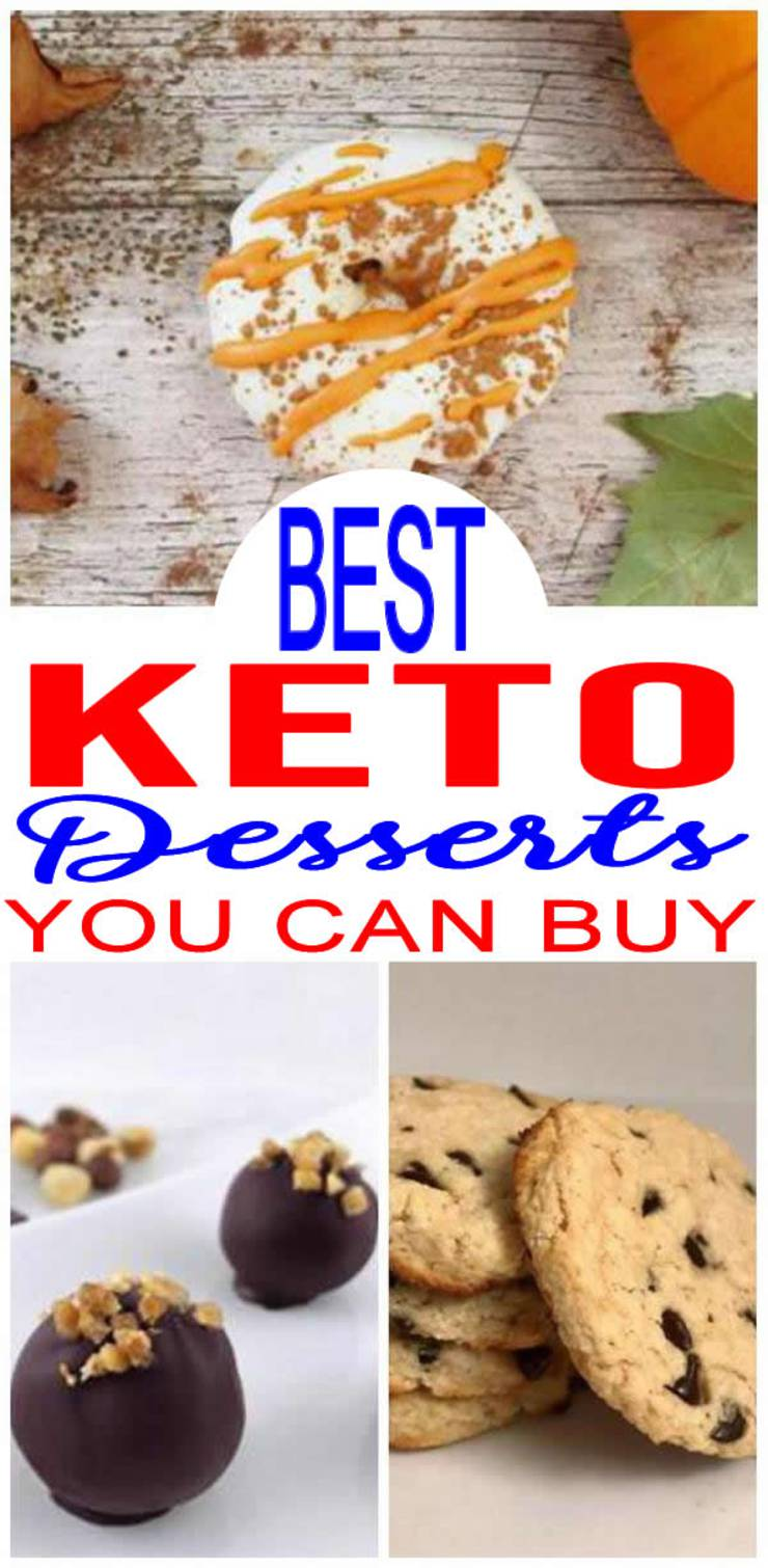 Keto Desserts You Can Buy – BEST Low Carb Desserts To Buy – Easy Ketogenic Diet Store Bought Dessert Ideas