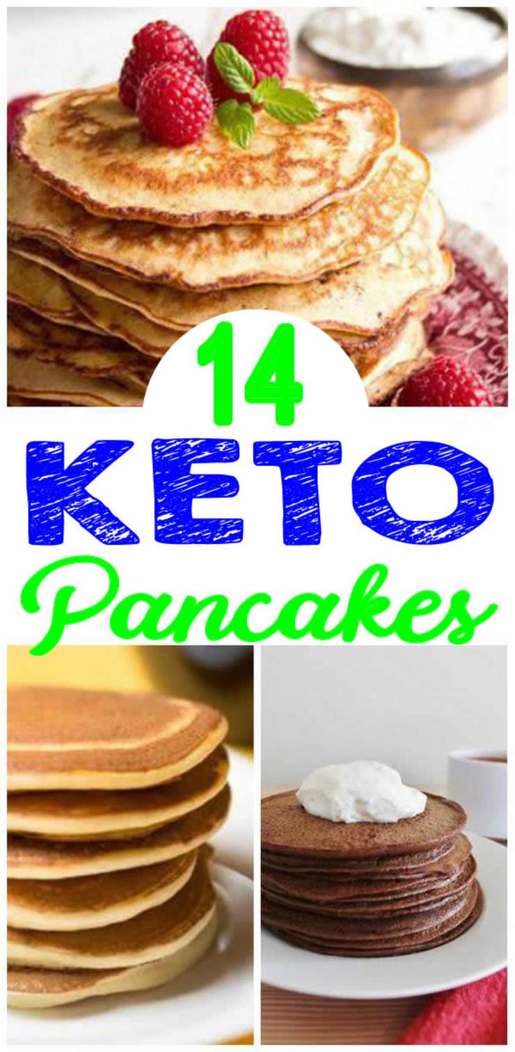 Keto Pancakes– BEST Low Carb Pancake Recipes – Easy Ketogenic Diet Ideas