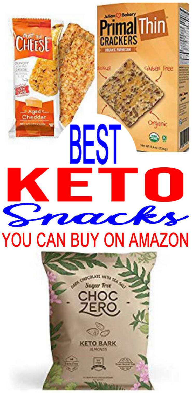 Keto Snacks You Can Buy On Amazon – BEST Low Carb Snacks To Buy Amazon – Easy Ketogenic Diet Store Bought Snack Ideas