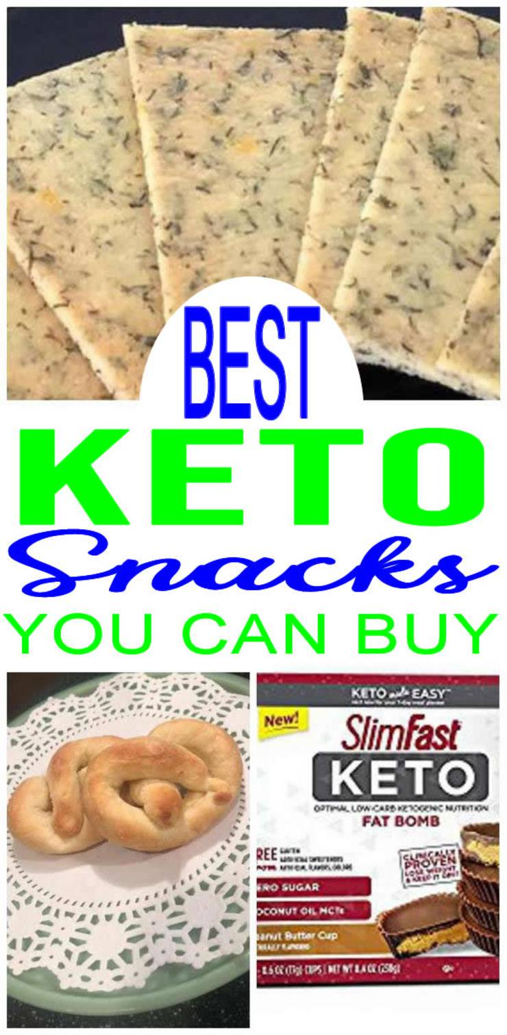 Keto Snacks You Can Buy – BEST Low Carb Snacks To Buy – Easy Ketogenic Diet Store Bought Snack Ideas - Amazon Keto Foods & ETSY Low Carb Ideas