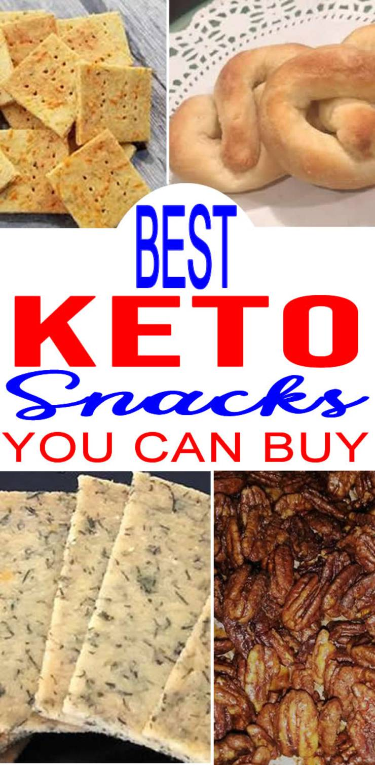 Keto Snacks You Can Buy – BEST Low Carb Snacks To Buy – Easy Ketogenic Diet Store Bought Snack Ideas
