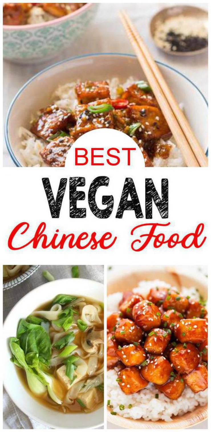 9 Vegan Chinese Food - BEST Vegan Chinese Food Recipes – Easy – Healthy – Vegan Ideas – Dinner - Lunch - Parties