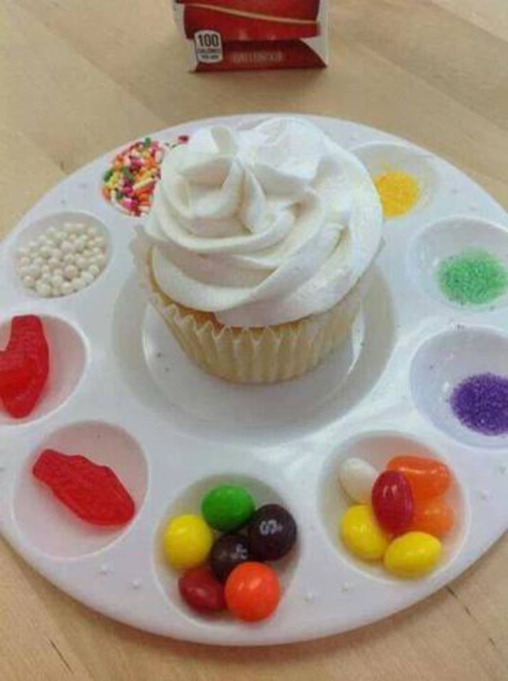 Dollar Tree Decorate Your Own Cupcake Tray