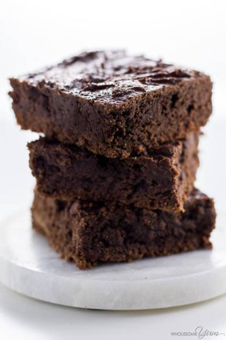 Fudgy Low Carb Brownies
