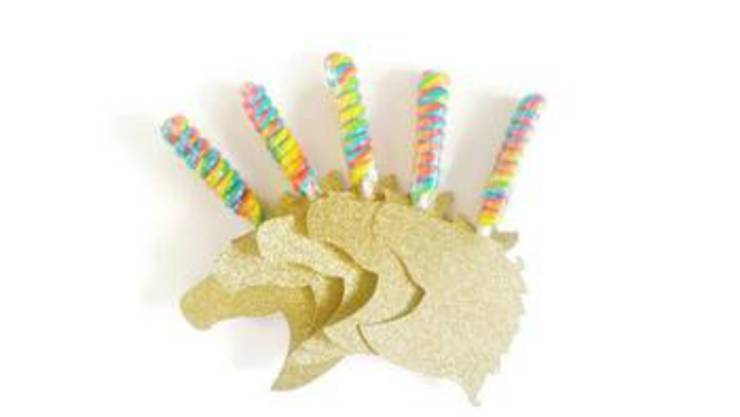 Unicorn Lollipop Favors