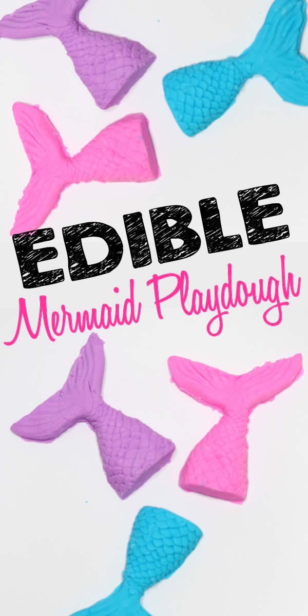 How To Make Edible Playdough | Easy DIY Mermaid Edible Playdough Recipe No Cook