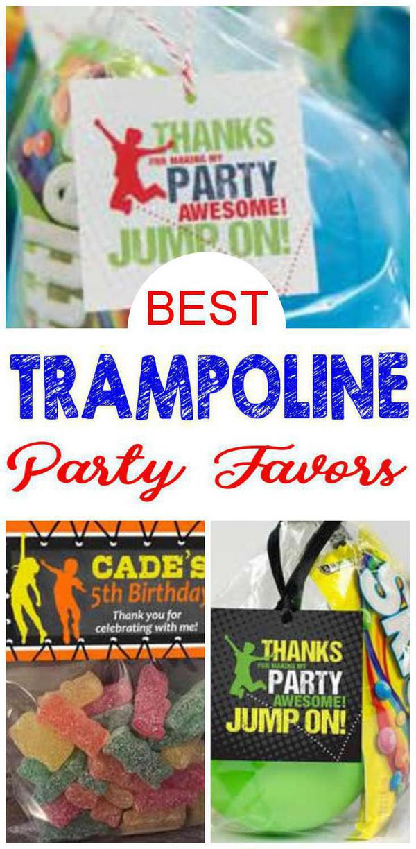 Trampoline Party Favors